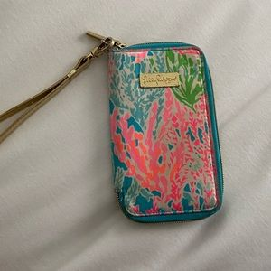 "Lilly Pulitzer Wristlet in ""Let's Cha Cha"""